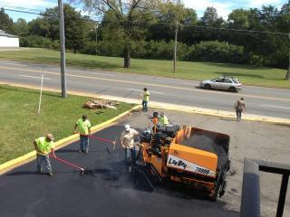 Parking Lot Asphalt Paving