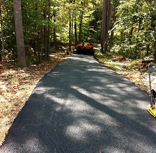 So MD After residential driveway paving